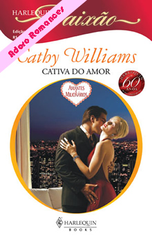 Cativa do amor de Cathy Williams