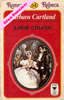 Amor Cigano de Barbara Cartland