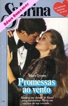 o romance promessas ao vento - mary lyons