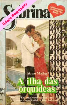 A ilha das orquídeas de Anne Mather